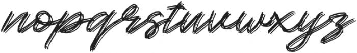Kallisa otf (400) Font LOWERCASE
