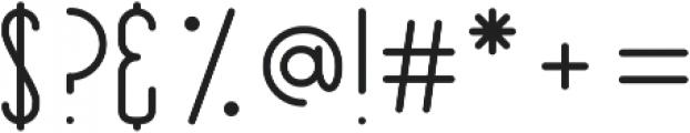 Kalopsia Slab ttf (400) Font OTHER CHARS