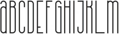 Kalpazan SemiBold otf (600) Font LOWERCASE
