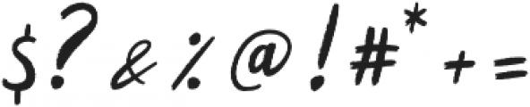 Kalyma otf (400) Font OTHER CHARS