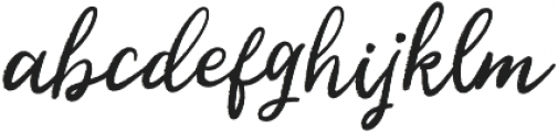 Kalyma otf (400) Font LOWERCASE