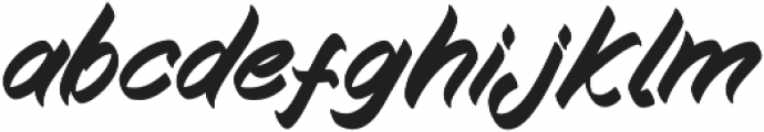 Kampiun Samgor Regular otf (400) Font LOWERCASE