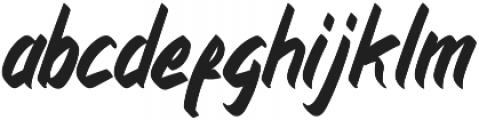 Kancaqu Regular otf (400) Font LOWERCASE