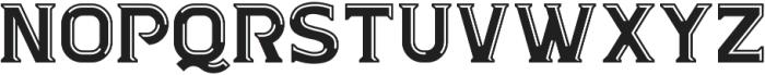 Kandel Bevel ttf (400) Font UPPERCASE