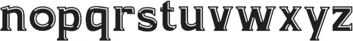 Kandel Bevel ttf (400) Font LOWERCASE