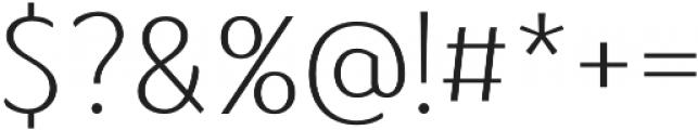 Kandira Alt otf (400) Font OTHER CHARS