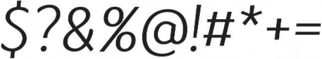 Kandira ttf (300) Font OTHER CHARS