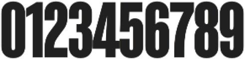 Kaneda Gothic ExtraBold otf (700) Font OTHER CHARS