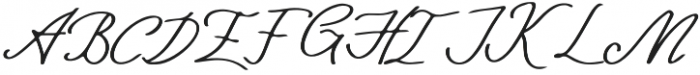 Kangary otf (400) Font UPPERCASE