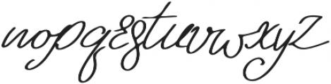 Kangary otf (400) Font LOWERCASE