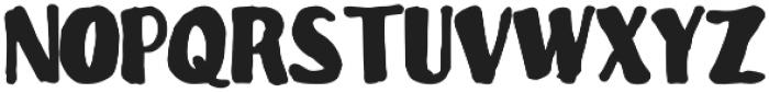 Kanover otf (400) Font UPPERCASE