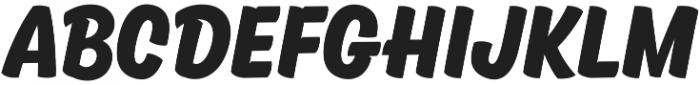 Kansas Casual Bold otf (700) Font LOWERCASE