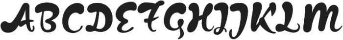 Kapelka New otf (400) Font UPPERCASE