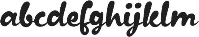 Kapelka New otf (400) Font LOWERCASE