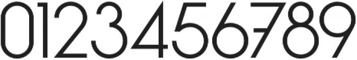 Kapital Light otf (300) Font OTHER CHARS