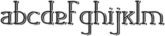 Kapow Kapow otf (400) Font LOWERCASE