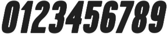 Kapra ExtraBold Italic otf (700) Font OTHER CHARS