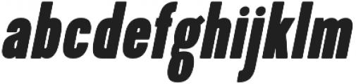 Kapra ExtraBold Italic otf (700) Font LOWERCASE