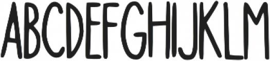 Kapslock otf (400) Font UPPERCASE