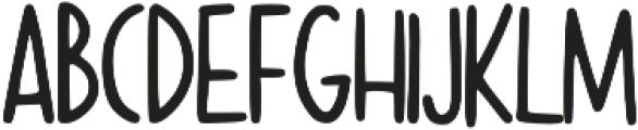 Kapslock otf (400) Font LOWERCASE