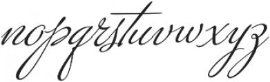 Kapture Regular otf (400) Font LOWERCASE