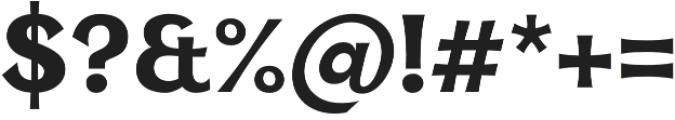 Kara Display otf (400) Font OTHER CHARS