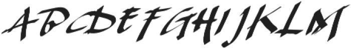 Karacca otf (400) Font UPPERCASE