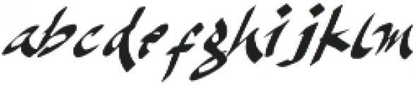 Karacca otf (400) Font LOWERCASE
