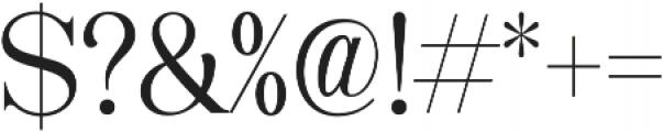 Karatone otf (400) Font OTHER CHARS