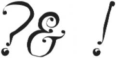 Karenina Regular otf (400) Font OTHER CHARS
