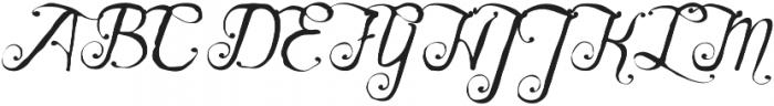 Karenina Regular otf (400) Font UPPERCASE
