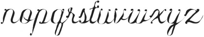 Karenina Regular otf (400) Font LOWERCASE
