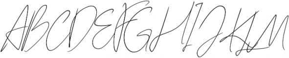 Karimun Jawa Italic otf (400) Font UPPERCASE