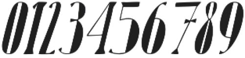 Karl Black Oblique otf (900) Font OTHER CHARS