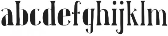 Karl Black otf (900) Font LOWERCASE