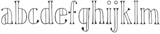 Karl Blackfoot otf (900) Font LOWERCASE