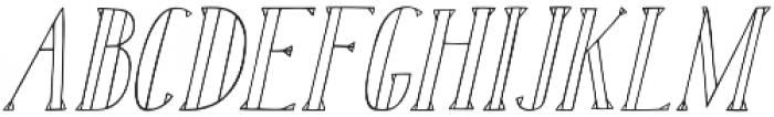 Karl White Oblique otf (400) Font UPPERCASE