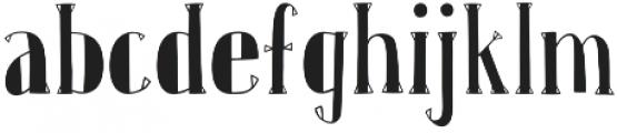 Karl Whitefoot otf (400) Font LOWERCASE