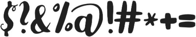 Karlita otf (400) Font OTHER CHARS