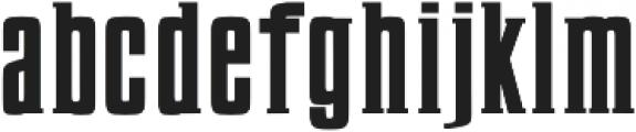 Karlton SemiBold Semi otf (600) Font LOWERCASE