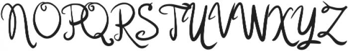 Karola Regular otf (400) Font UPPERCASE