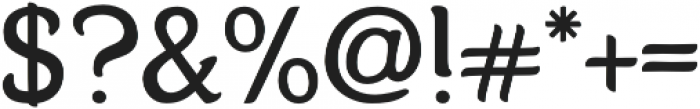Karolina otf (400) Font OTHER CHARS