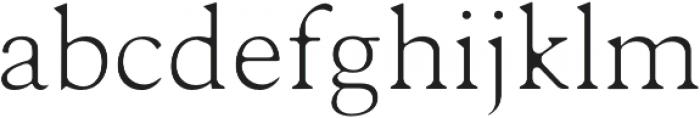 Karoll Light Round otf (300) Font LOWERCASE