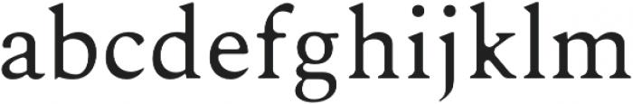 Karoll Round otf (400) Font LOWERCASE
