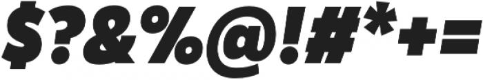 Karu Black Italic otf (900) Font OTHER CHARS