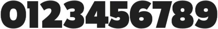Karu Black otf (900) Font OTHER CHARS