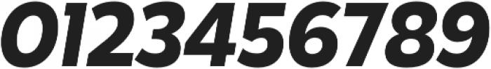 Karu Bold Italic otf (700) Font OTHER CHARS
