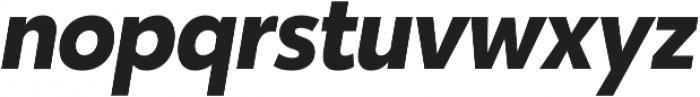 Karu Bold Italic otf (700) Font LOWERCASE