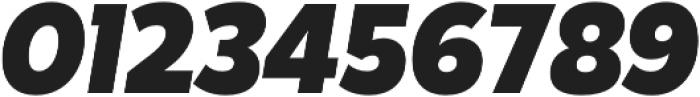 Karu ExtraBold Italic otf (700) Font OTHER CHARS