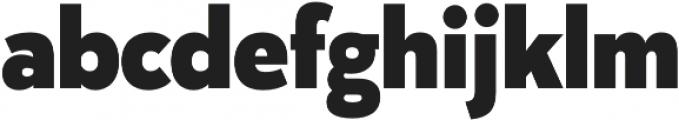 Karu ExtraBold otf (700) Font LOWERCASE